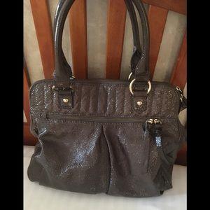 Amazing J.Crew Patent Leather Large Shoulder Bag!